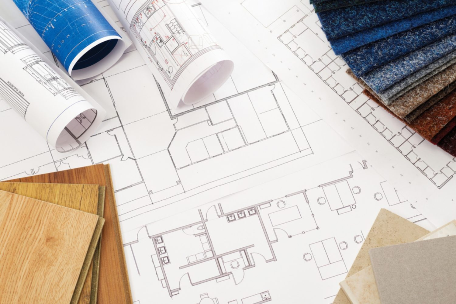 Interior designers help you optimise the space in your home and plan the layout for ceiling, lighting, furniture, electrical and more!