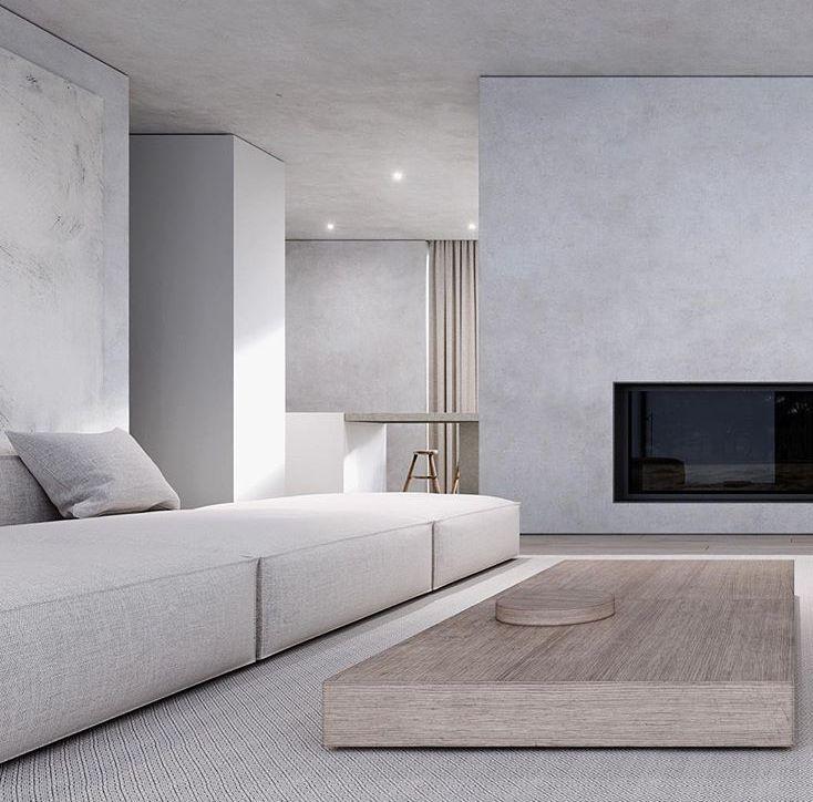Minimalist interior design for living rooms