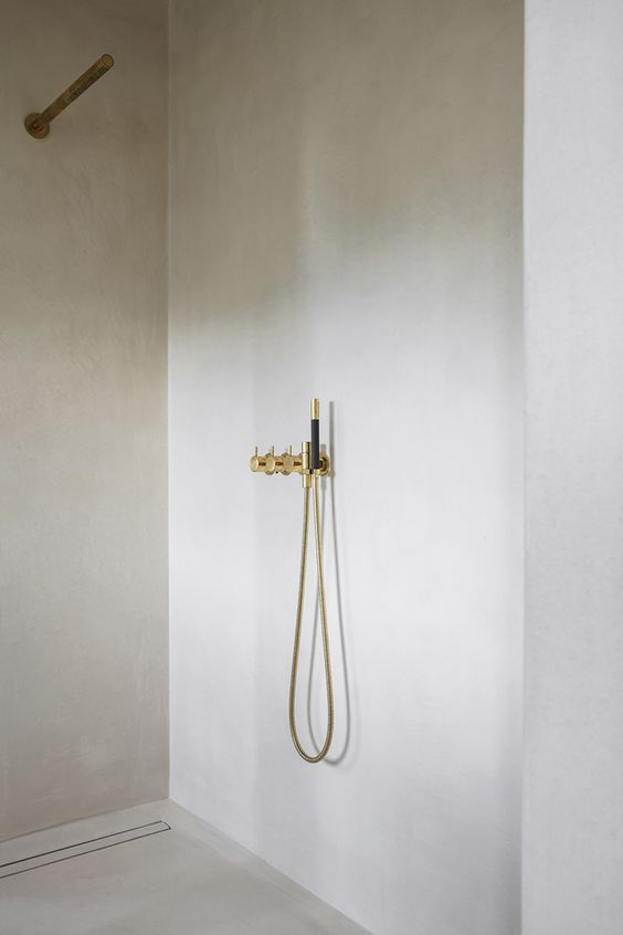 Super simple white bathroom