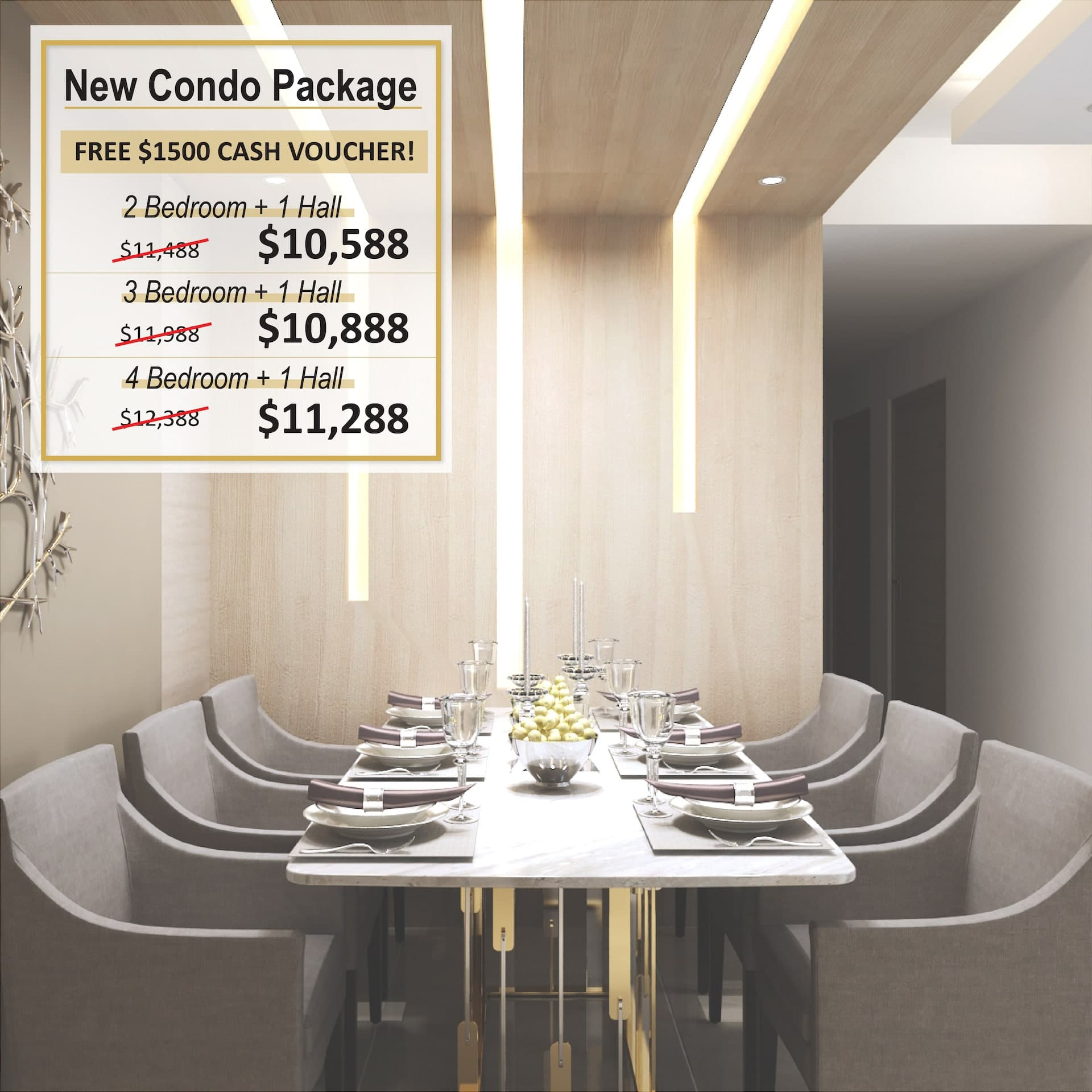 Renovation Package - New Condo